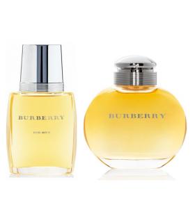 Çiftlere Özel Burberry Set ( Burberry Classic )-Burberry erkek clasic 100 ml+Burberry bayan clasic 100 ml