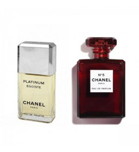 Chanel No5 EDP 100 Ml Bayan & Chanel Egoiste Platinium Pour Homme Edt 100 ml Erkek Sevgili Parfüm Kombini